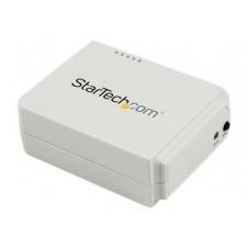 StarTech.com Servidor de Impresión Inalámbrico Wireless N y Ethernet de 1 Puerto USB - 802.11 b/g/n - servidor de impresión
