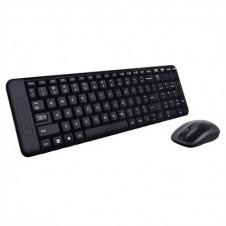 Logitech Wireless Combo MK220 - juego de teclado y ratón - Español