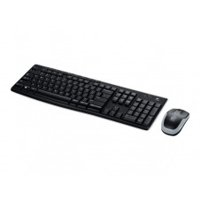 Logitech Wireless Combo MK270 - juego de teclado y ratón - EE.UU. Internacional (NSEA / EER)