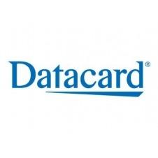 Datacard Monochrome Ribbon - 1 - blanco - casete con cinta de impresión