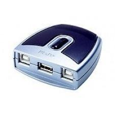 ATEN US-221 - interruptor para compartir periférico USB - 2 puertos