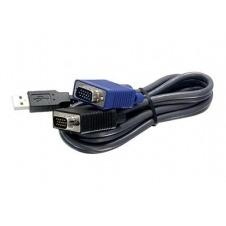 TRENDnet TK CU06 - cable de teclado / vídeo / ratón (KVM) - 1.8 m