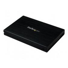 StarTech.com Caja Carcasa de Aluminio USB 3.0 de Disco Duro HDD SATA 3 III 6Gbps de 2,5 Pulgadas Externo con UASP - caja de almacenamiento - SATA 6Gb/