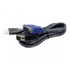 TRENDnet TK CU15 - cable de teclado / vídeo / ratón (KVM) - 4.5 m