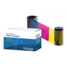 Datacard YMCKFT - color (cian, magenta, amarillo, fluorescente, negro resina) - kit de suministros
