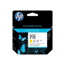 HP 711 - paquete de 3 - amarillo - original - cartucho de tinta
