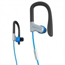 Earphones Sport 1 Mic Blue