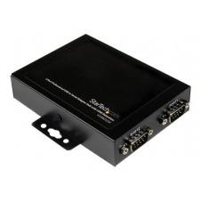 StarTech.com Adaptador Concentrador Hub 2 Puertos Serie Serial RS232 DB9 a USB con Retención Puerto COM - adaptador serie