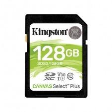 MEMORIA SD 128GB CANVAS SELECT PLUS KINGSTON