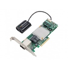 Microsemi Adaptec 8885Q - controlador de almacenamiento (RAID) - SATA 6Gb/s / SAS 12Gb/s - PCIe 3.0 x8
