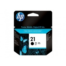 HP 21 - negro - original - cartucho de tinta