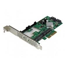 StarTech.com Tarjeta Controladora SATA III RAID PCI Express 2.0 con 2 Ranuras mSATA Emparejamiento HyperDuo para SSD - controlador de almacenamiento (
