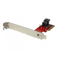 StarTech.com x4 PCI Express to SFF-8643 Adapter for PCIe NVMe U.2 SSD - adaptador de interfaz - SAS 12Gb/s - PCIe x4