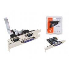 i-Tec - adaptador paralelo / serial - 2 puertos