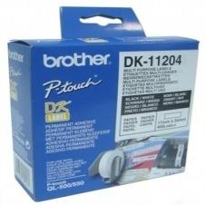 Brother DK-11204 - etiquetas para usos múltiples - 400 etiqueta(s)