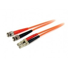 StarTech.com 1m Fiber Optic Cable - Multimode Duplex 62.5/125 LSZH - LC/ST - cable de interconexión - 1 m - naranja