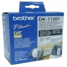 Brother DK-11201 - etiquetas de direcciones - 400 etiqueta(s)