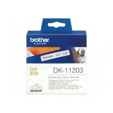 Brother DK-11203 - etiquetas para carpetas de archivo - 300 etiqueta(s)