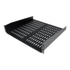 StarTech.com 2U 16in Universal Fixed Vented Rack Mount Cantilever Shelf - estante para bastidor - 2U