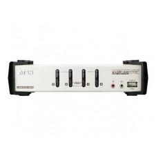ATEN CS1734B - conmutador KVM / audio / USB - 4 puertos