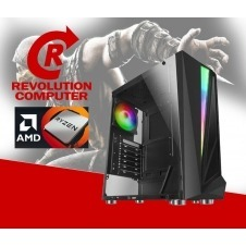 REV-AMD RYZEN 5 5600X GAMER CYBORG+