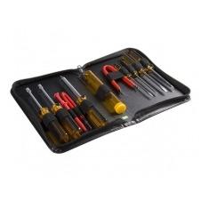 StarTech.com Juego Kit Set Herramientas Reparación Ordenadores 11 piezas Estuche- Torx Phillips Plano - Kit de herramientas
