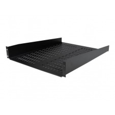StarTech.com 2U 22in Vented Fixed Rack Mount Cantilever Shelf 50lbs / 22kg - estante para bastidor - 2U