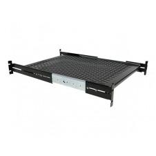 StarTech.com Estante Bandeja Deslizante Perforada Telescópica para Armario Rack de Profundidad Ajustable - 2U 22.7kg - estante para bastidor - 1U