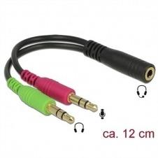 DeLOCK adaptador de audio - 12 cm