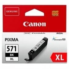 Canon CLI-571BK XL - Alto rendimiento - negro - original - depósito de tinta
