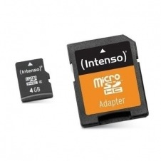 Intenso Class 10 - tarjeta de memoria flash - 4 GB - microSDHC
