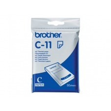 Brother - papel térmico - 50 hoja(s)