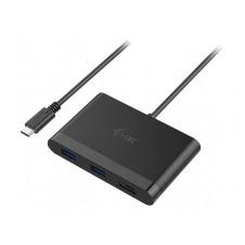 i-Tec USB-C HDMI and USB Adapter with Power Delivery Function - estación de conexión