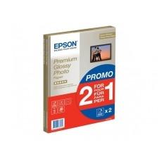 Epson Premium Glossy Photo Paper BOGOF - papel fotográfico brillante - 15 hoja(s)