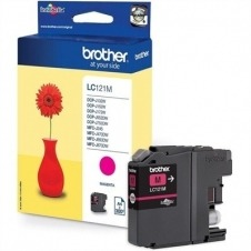 Brother LC121M - magenta - original - cartucho de tinta