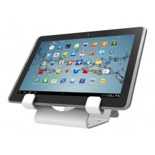 Compulocks Universal Tablet Holder - Keyed Cable Lock - White - base