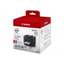 Canon PGI-2500XL C/M/Y/BK - paquete de 4 - negro, amarillo, cián, magenta - original - depósito de tinta