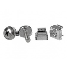 StarTech.com 50 Pkg M5 Mounting Screws & Cage Nuts for Server Rack Cabinet - tornillos y tuercas para bastidor