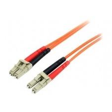 StarTech.com 3m Fiber Optic Cable - Multimode Duplex 62.5/125 LSZH - LC/LC - cable de interconexión - 3 m