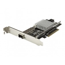StarTech.com 1-Port 10G Open SFP+ Network Card - PCIe - Intel Chip - MM/SM - adaptador de red