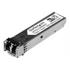 StarTech.com Cisco Compatible ransceptor Transceiver Fibra Multi Modo SFP Gigabit 850nm LC 1000Base-SX Mini GBIC Compatible Cisco - 550m - módulo de t