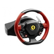 Thrustmaster Ferrari 458 Spider - juego de volante y pedales - cableado