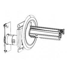 Zebra - kit de motor y eje de rebobinador interno