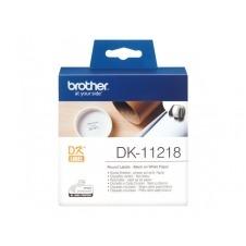 Brother DK-11218 - etiquetas - 1000 uds.