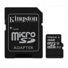 Kingston Canvas Select - tarjeta de memoria flash - 16 GB - microSDHC UHS-I