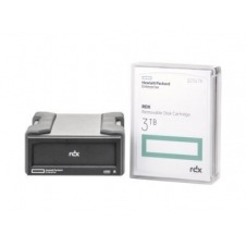 HPE RDX Removable Disk Backup System - unidad RDX - SuperSpeed USB 3.0 - externo - con cartucho de 3 TB