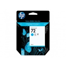HP 72 - cián - original - cartucho de tinta