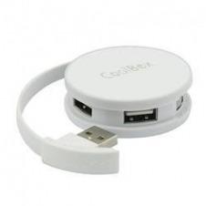 HUB USB 4 USB2.0 SMART BLANCO