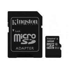Kingston Canvas Select - tarjeta de memoria flash - 32 GB - microSDHC UHS-I