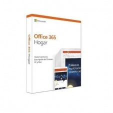 SOFTWARE MICROSOFT OFFICE 365 HOGAR (FPP)